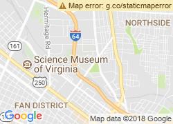 Map of Virginia Union University
