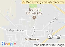 Map of Bethel University