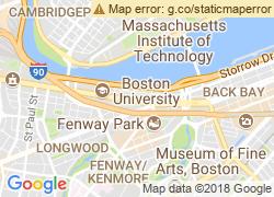 Map of Boston University