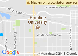 Map of Hamline University