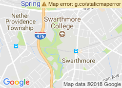 Map of Swarthmore College