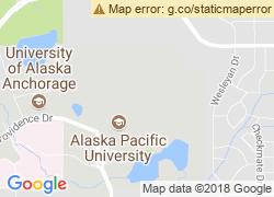 Map of Alaska Pacific University