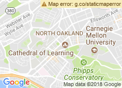 Map of University of Pittsburgh-Pittsburgh Campus