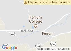 Map of Ferrum College