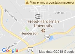 Map of Freed-Hardeman University