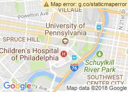 Map of University of Pennsylvania