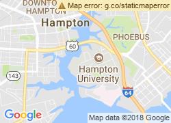 Map of Hampton University
