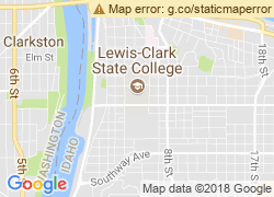 Map of Lewis-Clark State College