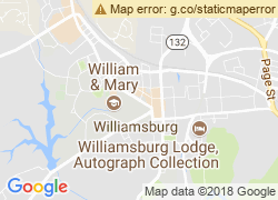 Map of College of William and Mary