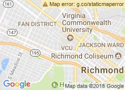 Map of Virginia Commonwealth University