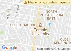 Map of Temple University