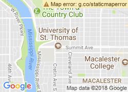 Map of University of St. Thomas