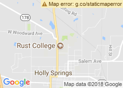 Map of Rust College