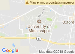 Map of University of Mississippi