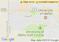 Map of University of Idaho
