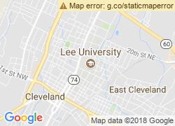 Map of Lee University