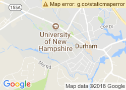 Map of University of New Hampshire-Main Campus