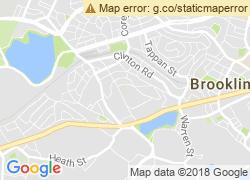 Map of Newbury College-Brookline
