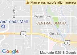 Map of Nebraska Methodist College of Nursing & Allied Health