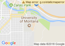 Map of The University of Montana