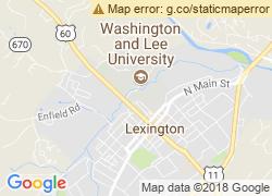 Map of Washington and Lee University
