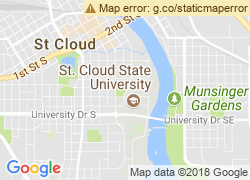 Map of Saint Cloud State University