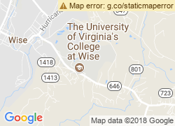 Map of The University of Virginia's College at Wise