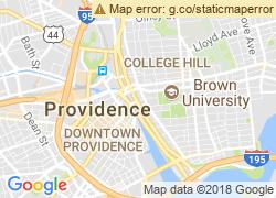 Map of Rhode Island School of Design