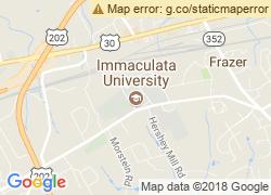 Map of Immaculata University