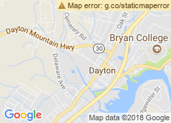 Map of Bryan College-Dayton