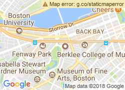 Map of The Boston Conservatory