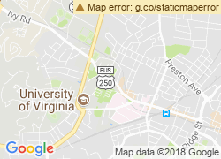Map of University of Virginia-Main Campus