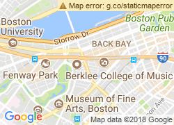 Map of Berklee College of Music