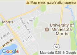 Map of University of Minnesota-Morris
