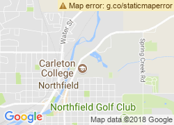 Map of Carleton College