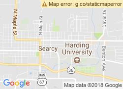 Map of Harding University