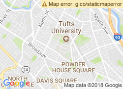 Map of Tufts University