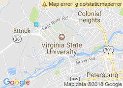 Map of Virginia State University