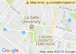 Map of La Salle University