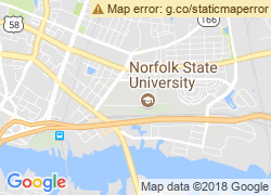 Map of Norfolk State University