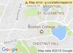 Map of Boston College