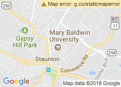 Map of Mary Baldwin College
