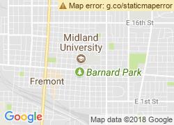 Map of Midland University