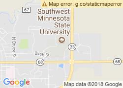 Map of Southwest Minnesota State University