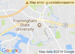 Map of Framingham State University