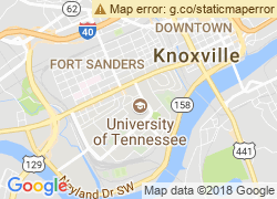 Map of The University of Tennessee