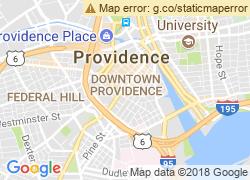 Map of Johnson & Wales University-Providence