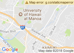 Map of Chaminade University of Honolulu