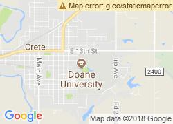Map of Doane College-Crete