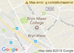 Map of Bryn Mawr College